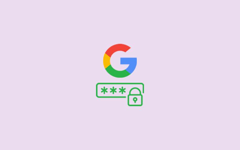 How do I Change My Google Password